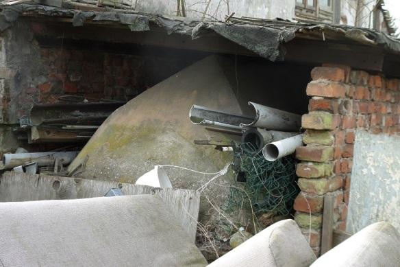 Bunker im Kleingarten