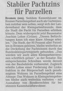 Weser-Kurier 18.12.2014