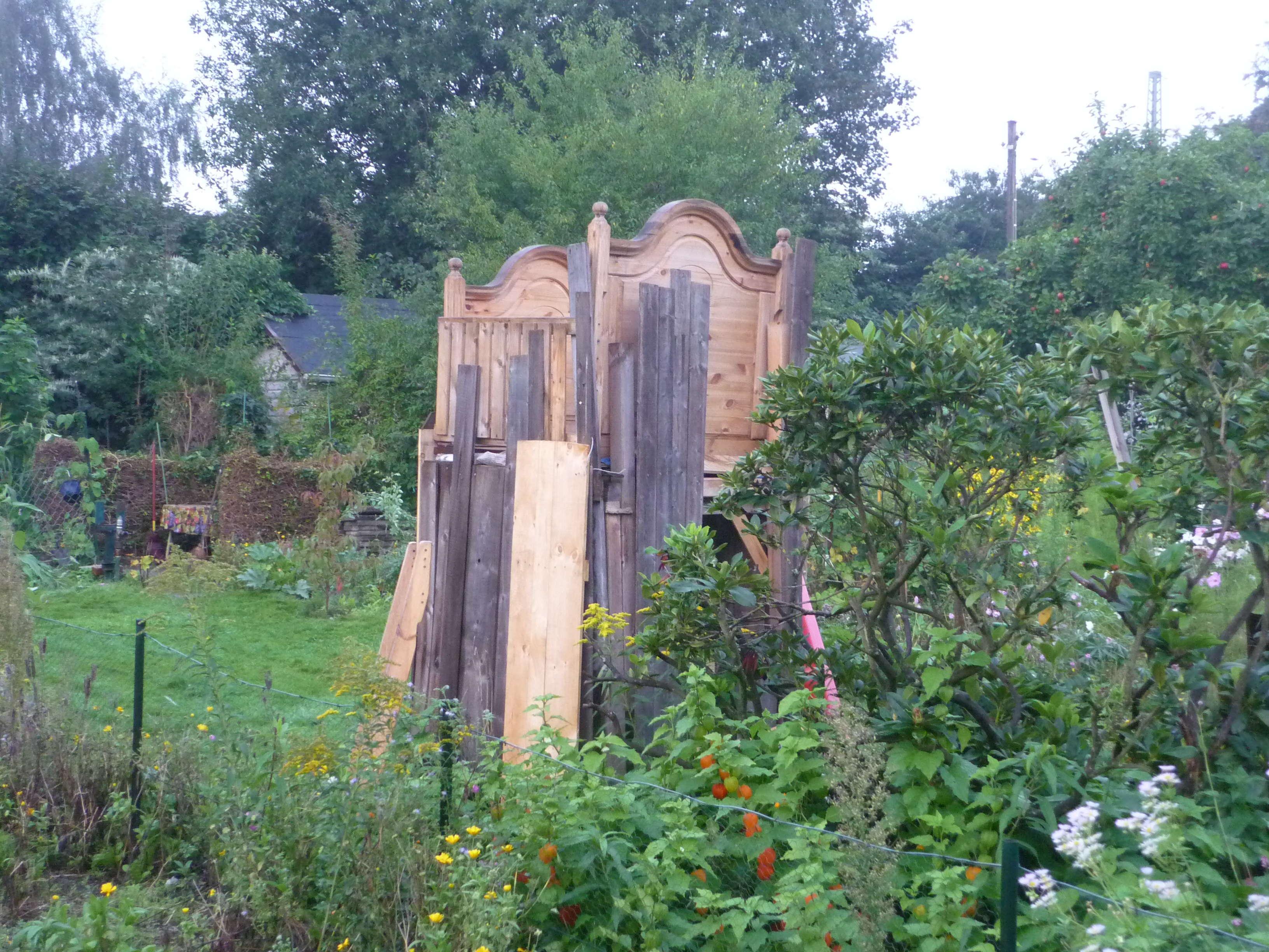 Ein himmelbett im garten g rtnern in bremen - Garten himmelbett ...